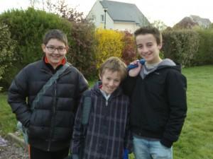Edouard, Paul et Nathan